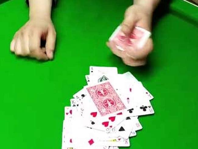 a viral card trick by corkman Dave Duggan