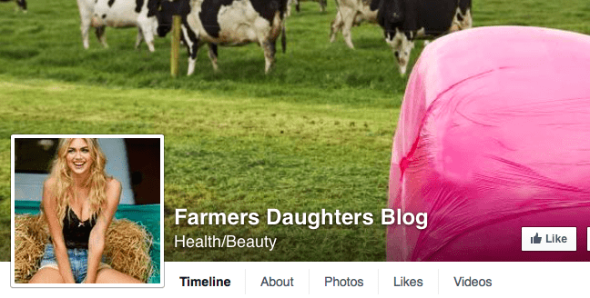 facebook page of the farmers daughters