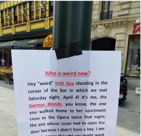 are you a weird irish guy?
