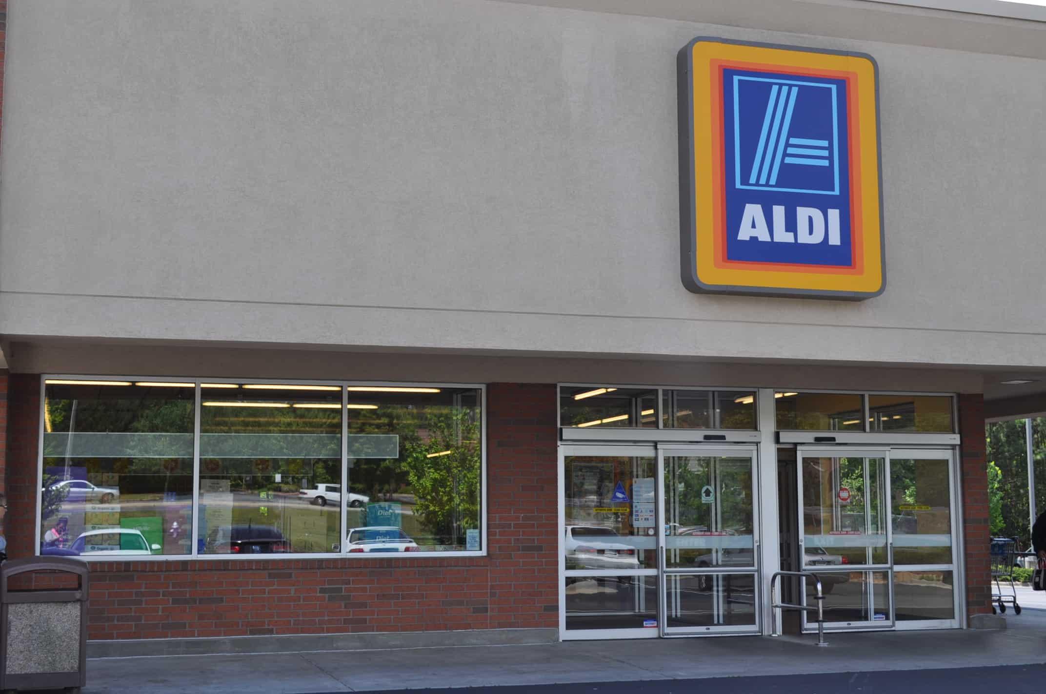 An Aldi store busy undermining Irish security