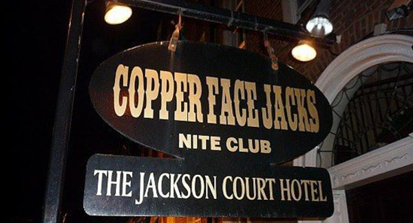 coppers entrance sign