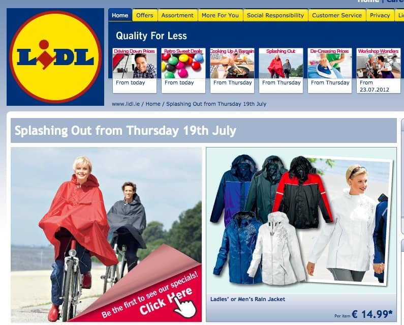 lidl summer catalogue