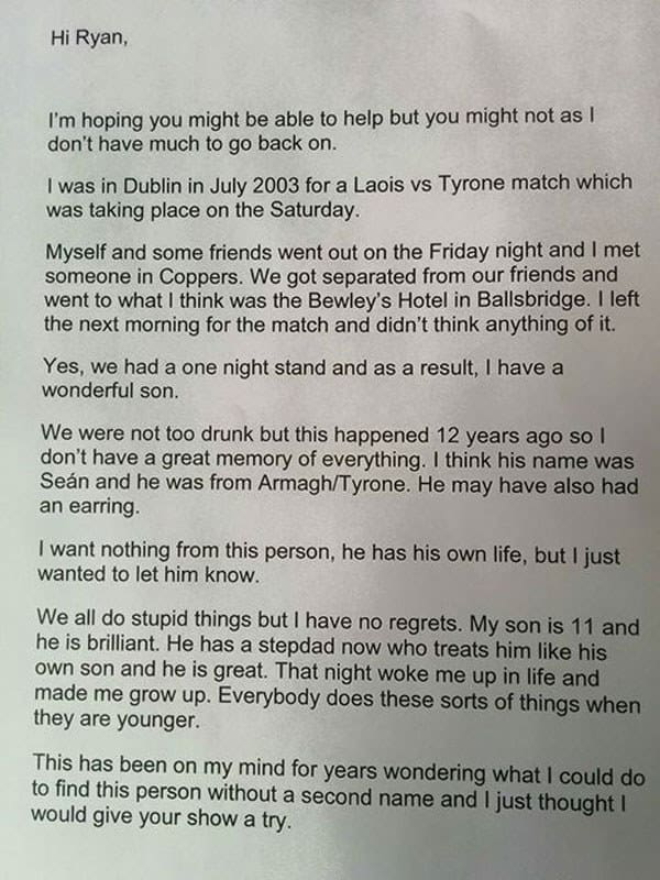 letter about copper face jack