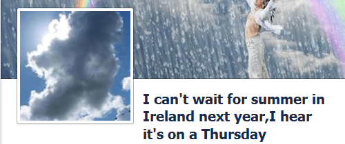 irish summer on Tuesday