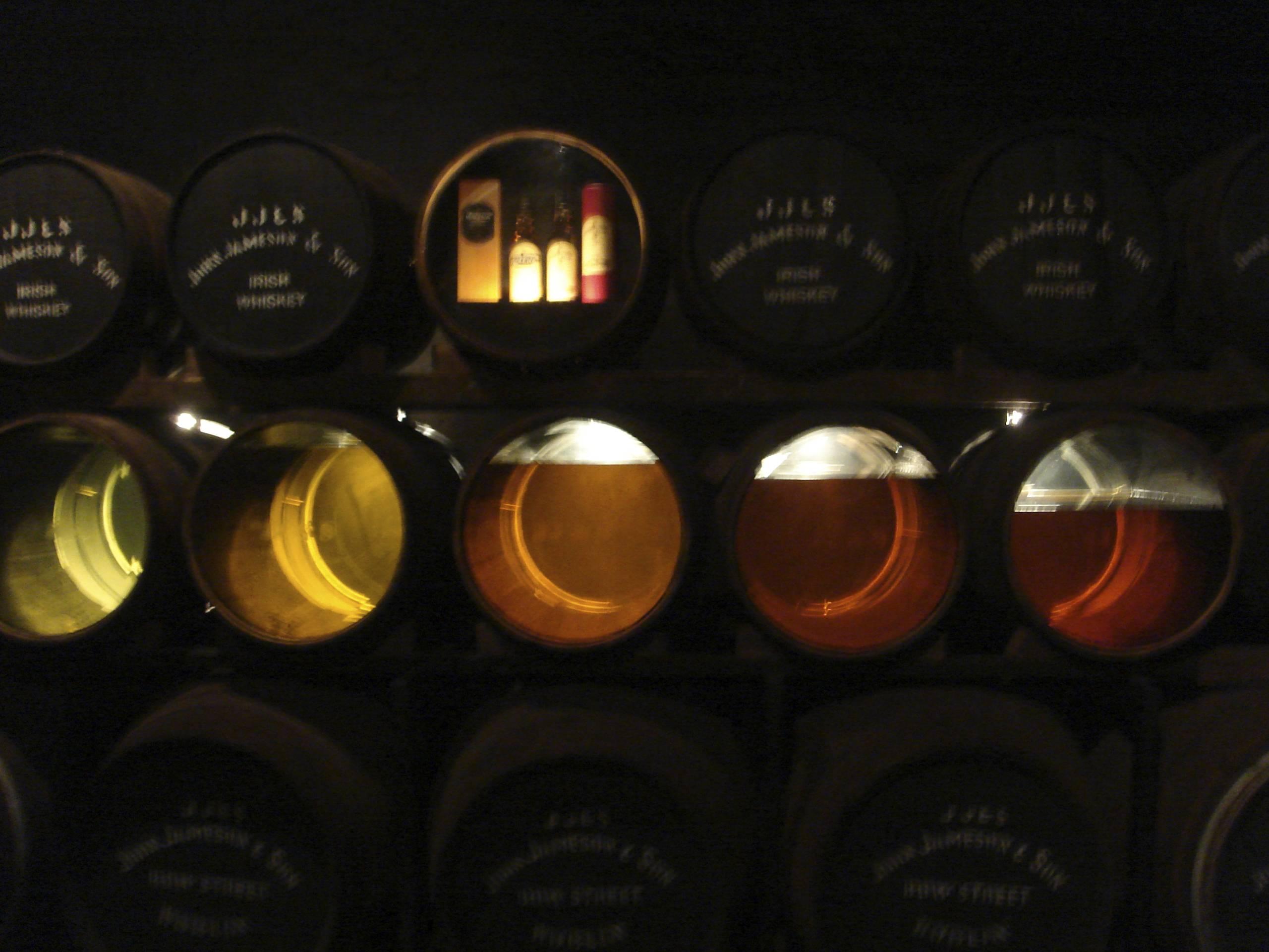 maturing casks