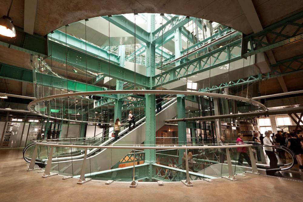 Guinness storehouse atrium dublin