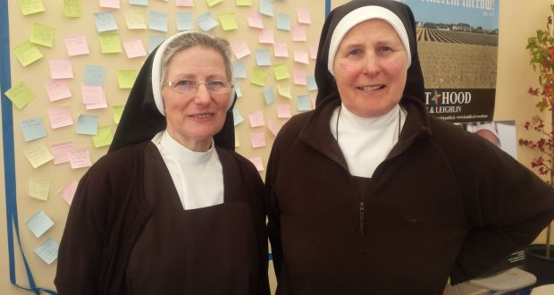 nuns at ploughing festival