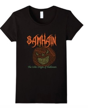 pumpkin Samhain t-shirt