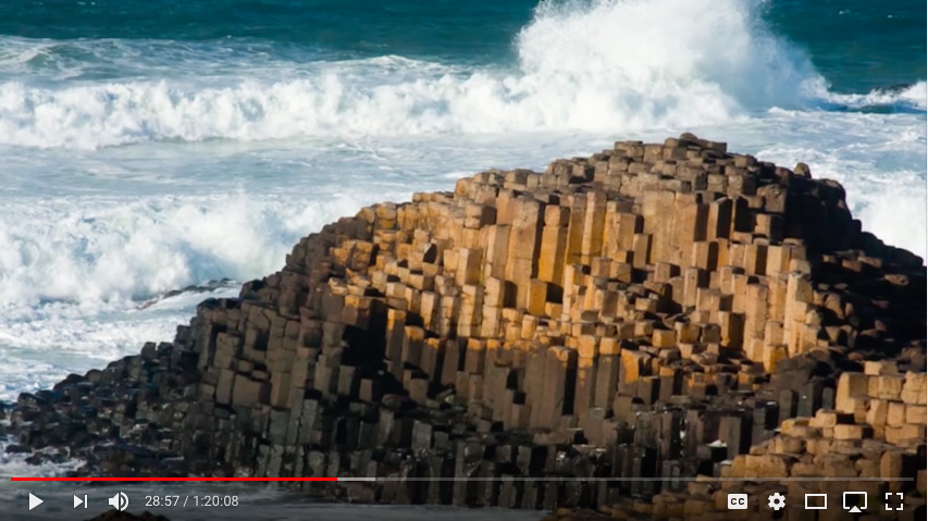 Giants Causeway or a tree stump